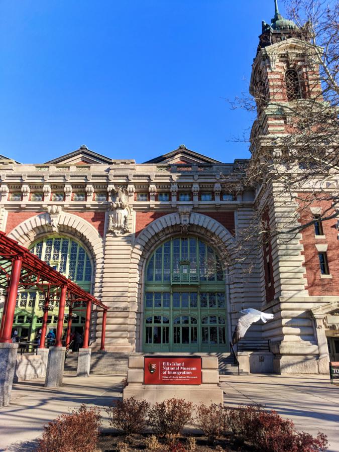 Exterior of Ellis Island National Monument New York City 4
