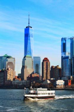 Lower Manhattan from Liberty Cruises Ship New York City 3