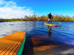 Paddleboarding Blue Spring State Park Paddleboard Orlando 1