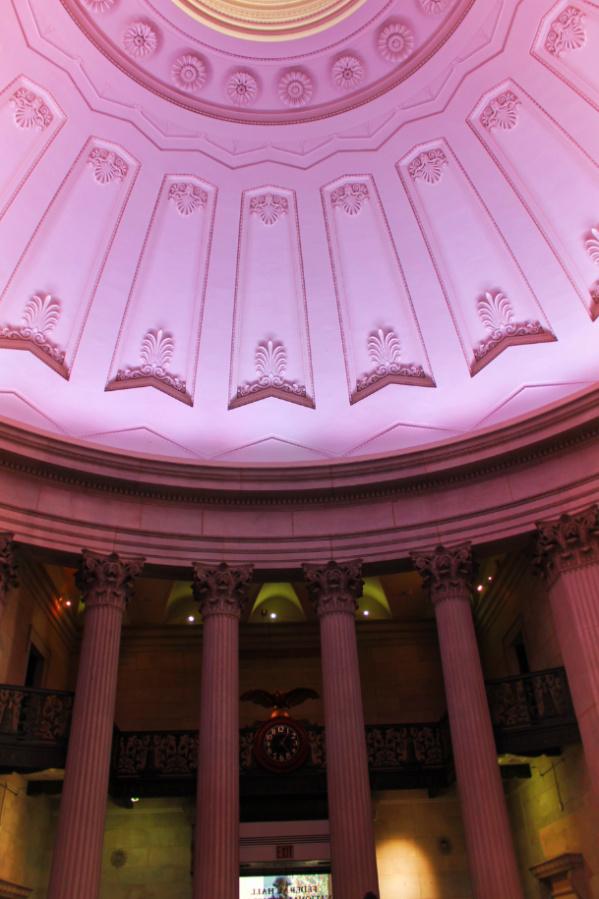 Rotunda of Federal Hall National Monument Wall Street Lower Manhattan NYC 2