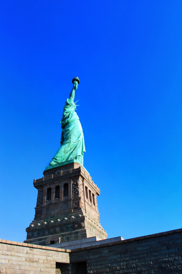 Statue of Liberty from Liberty Island New York City 3