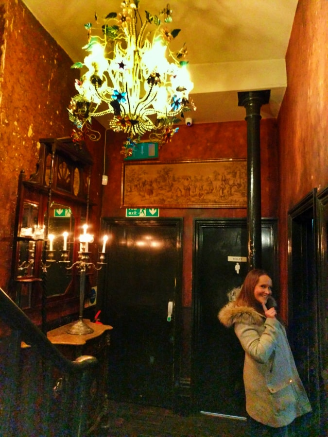 Alissa at Ten Bells Pub Shoreditch London UK 1