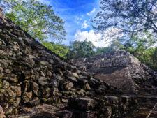 Ball courts at the Coba Mayan Ruins Yucatan 1