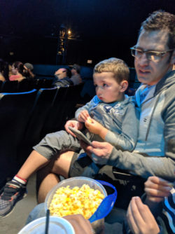 Taylor Family at Blue Man Group Universal Orlando Resort 2