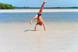 Rob Taylor at Yum Balam Nature Preserve Isla Holbox Yucatan 1