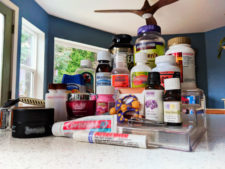 Safe Storage of Travel Products unpacked