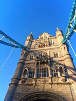 Tower Bridge over River Thames London UK 6