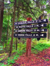Wandering Daughter TB Waterfalls on Cascase Falls trail Moran State Park San Juans 3