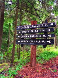 Wandering Daughter TB Waterfalls on Cascase Falls trail Moran State Park San Juans 3