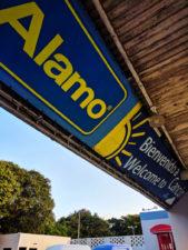 Alamo Rent a Car depot Cancun 1