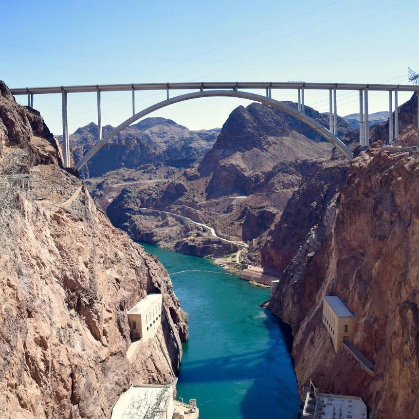 Bridge at Hoover Dam Las Vegas from 2DadsWithBaggage 1 - 2
