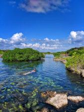 Cenote Yal Ku Akumal Yucatan Road Trip 1