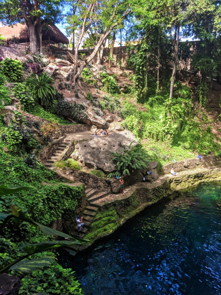 Cenote Zaci in Valladolid Yucatan 3