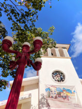 Church at Puerto Morelos Yucatan Road Trip 1