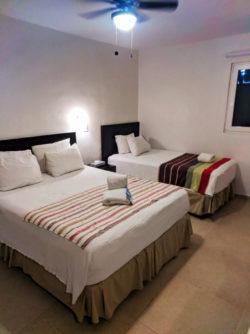 Club Yebo Hote Queen Twin room Playa Del Carmen Yucatan 1