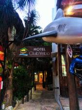 Club Yebo Hotel Entrance Playa Del Carmen Yucatan 1
