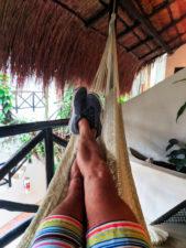 Club Yebo Hotel balcony Playa Del Carmen Yucatan 2