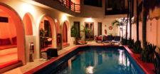 Club Yebo Hotel swimming pool Playa Del Carmen Yucatan 1