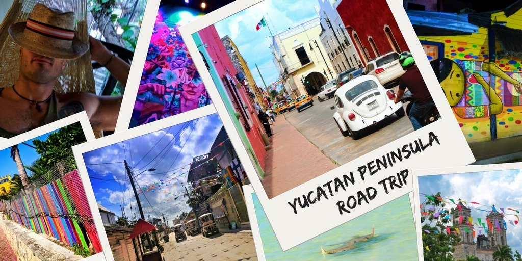 Yucatan Peninsula road trip: colorful towns of the Yucatan