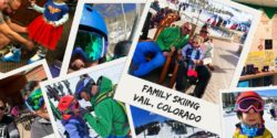 Family skiing in Vail Colorado is both fun and challenging. Vail and Avon offer many family friendly choices for accommodations and slopes, ski school, apres ski and more. 2traveldads.com