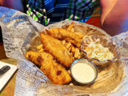 Fish n Chips at Lombards Restaurant in San Francisco at Universal Studios Florida 1