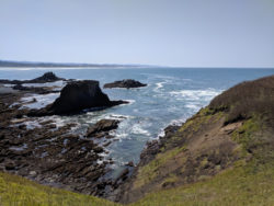 View from Yaquina Head Lighthouse Oregon Coast 1