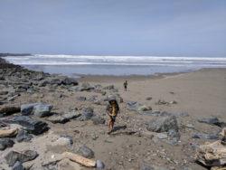 Taylor Family at Bullards Beach State Park Oregon Coast