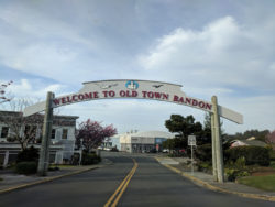 Old Town Bandon Oregon Coast