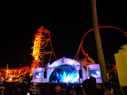 Jessie J Performing at night Universal Studios Florida 1