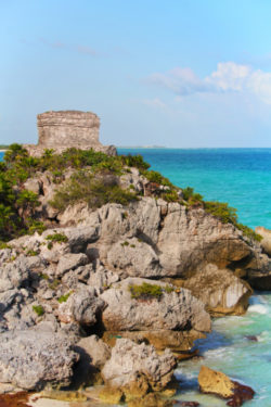 Palace at Tulum Mayan Ruins National Park Yucatan 17