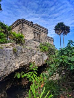 Palace at Tulum Mayan Ruins National Park Yucatan 2