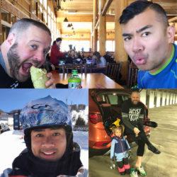 Rich SkiLikeADad hanging Beavercreek Vail Colorado 2018 1