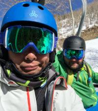 Rich SkiLikeADad skiing Beavercreek Vail Colorado 2018 3