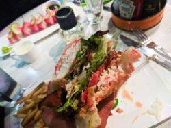 Seared Tuna Sushiburger at Cowfish Universal City Walk Orlando 1