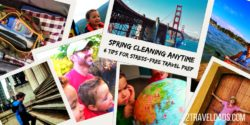 Stress free travel prep is easy with these 6 simple steps. From spring cleaning out the medicine cabinet to organized To Do lists, travel preparation can be a breeze. 2traveldads.com