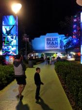 Taylor Family at Blue Man Group Universal City Walk Universal Orlando Resort 1