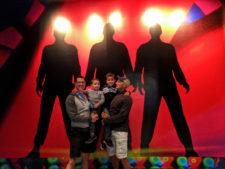 Taylor Family at Blue Man Group Universal City Walk Universal Orlando Resort 2