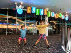 Taylor Family at Galaxy Bowl at Universal Cabana Bay Resort Orlando Florida 19