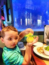 Taylor Family at Lombards Restaurant in San Francisco at Universal Studios Florida 1