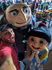 Taylor Family at Minions Character Breakfast Sapphire Falls Resort Universal Orlando 3