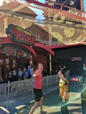 Taylor Family at Rocket Rollercoaster ride at Universal Studios Florida 1