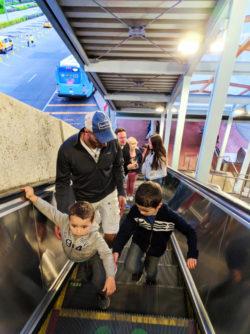 Taylor Family at Universal City Walk 2