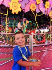 Taylor Family in Seuss Landing Universal Islands of Adventure Orlando 13
