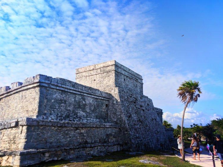 Temple at Tulum Mayan Ruins National Park Yucatan 12