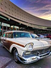 Vintage cars at Universal Cabana Bay Resort Orlando 1
