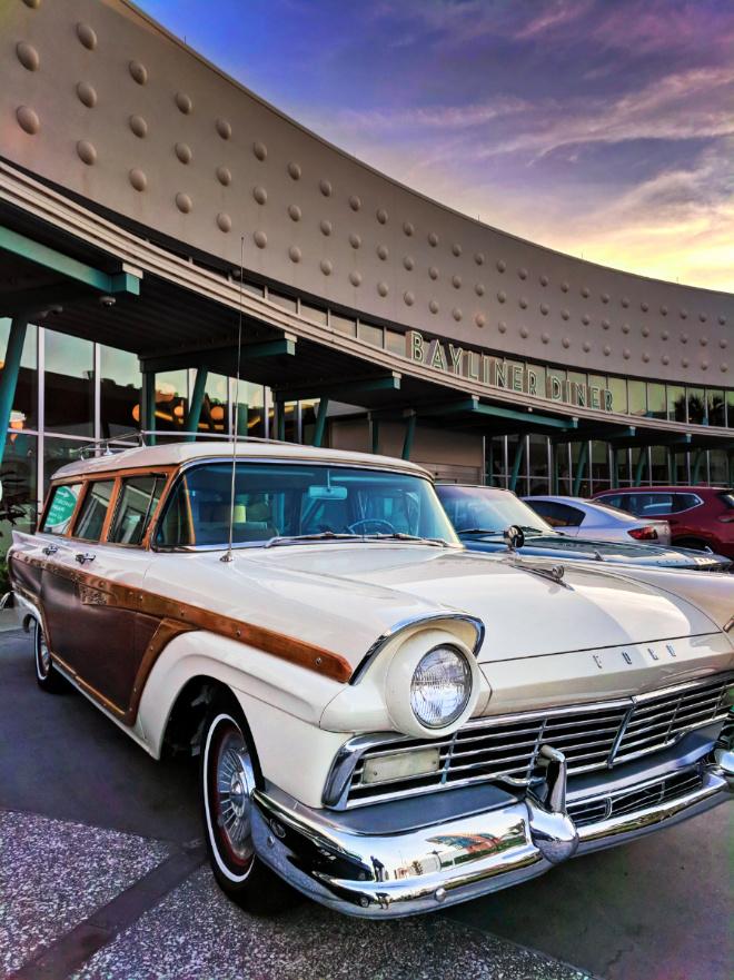 Vintage cars at Universal Cabana Bay Resort Orlando 1 - 2