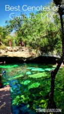 A highlight of a Caribbean Mexico vacation is visiting some of the best cenotes near Cancun. Swimming in caves and fresh water springs is fun and unique to the Yucatan. Cenotes are the best! 2traveldads.com