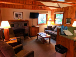 Cabin Interior at McGregor Mountain Lodge Estes Park Colorado 4