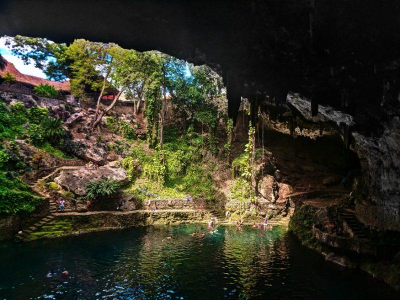 Cenote Zaci in Valladolid Yucatan 7
