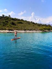 Chris Taylor SUP Pride Sailing Holiday Korcula Croatia 1